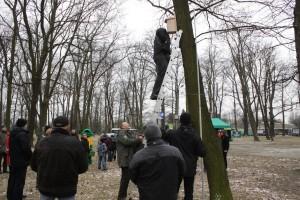 Akcja wieszania budek lęgowych w Parku 1000-lecia_086