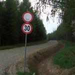 Leśna droga w Puszczy Karpackiej