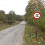 Leśna droga z Jaworca do Zawoju